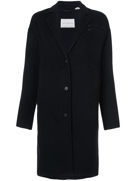 the Arrivals coat women black wool