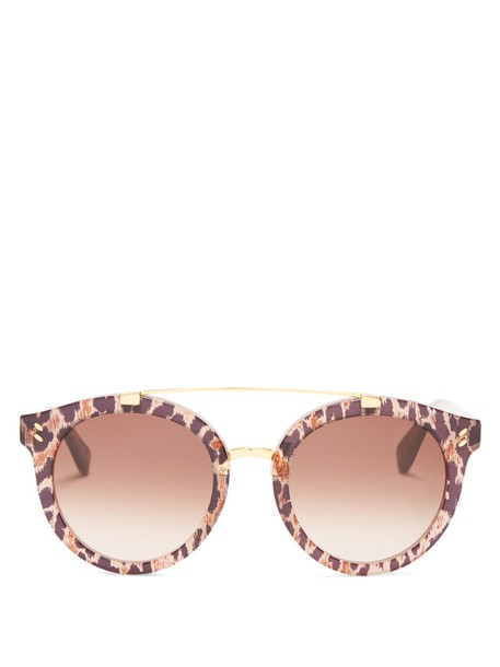 Stella McCartney sunglasses beige