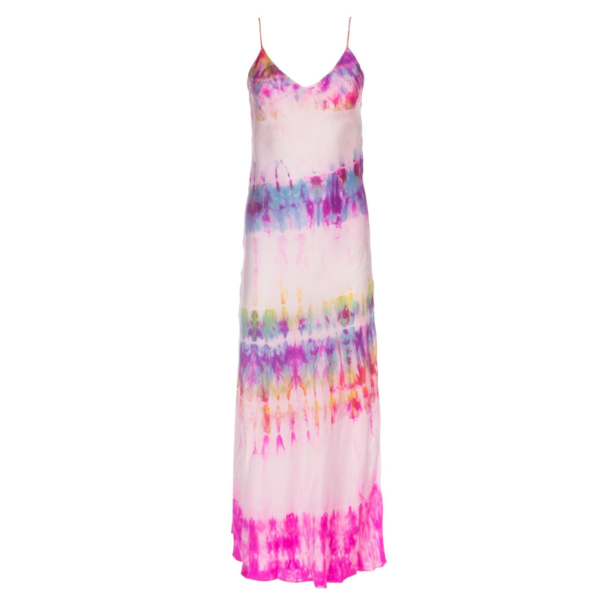 Dannijo Strawberry Fields Tie Dye Slip Dress - 90s Redux