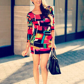 dress,picasso,multi color,makeup table,vanity row,dress to kill,style,mini dress,party dress