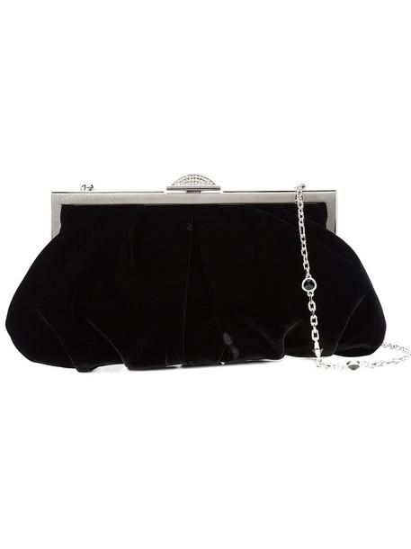 women bag black velvet