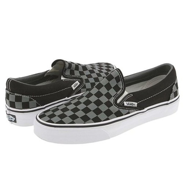shoes vans checkered slip on shoes old school