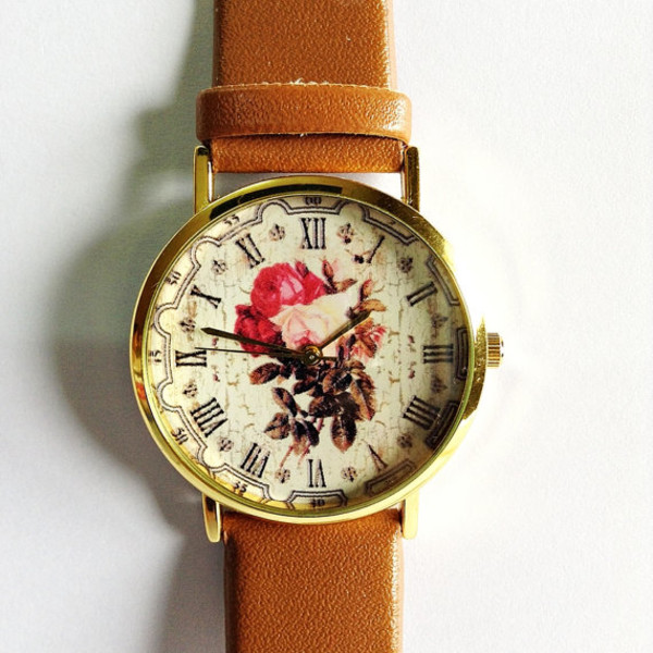 jewels floral watch bag