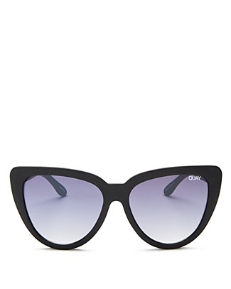 Quay Stray Cat Oversized Cat Eye Sunglasses, 57mm | Bloomingdale's