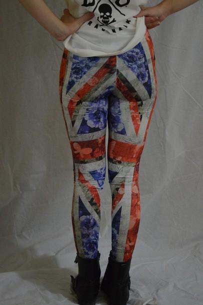 leggings union jack