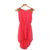 Women Chiffon Sleeveless Dress Paillette Shoulder Slim Irregular One Piece Dress | eBay