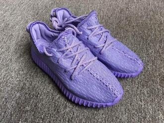 shoes adidas yezzy yeezy boost 350 purple violet fashion
