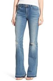 jeans,denim,nordstrom,clothes,flared denim,flare jeans