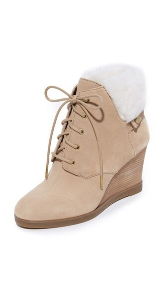 wedge booties dark booties khaki shoes
