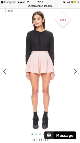 shorts pink girly