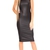 Tarah Pu Midi Dress In Black