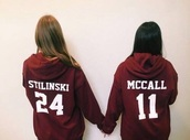 sweater,teen wolf,scott mccall,stiles stilinski,sweatshirt