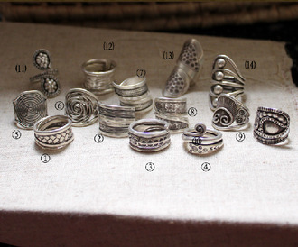 jewels handmade sterling silver rings sterling silver rings set