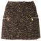 Balmain tweed mini skirt - farfetch
