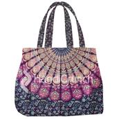 bag,mandala bags,handbag,shoulder bag