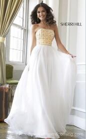 sherri hill 11107,beads homecoming dress