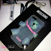 phone cover,moschino,cute,iphone case,luxury