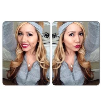 sweater armani lipstick burgundy lips mac cosmetics