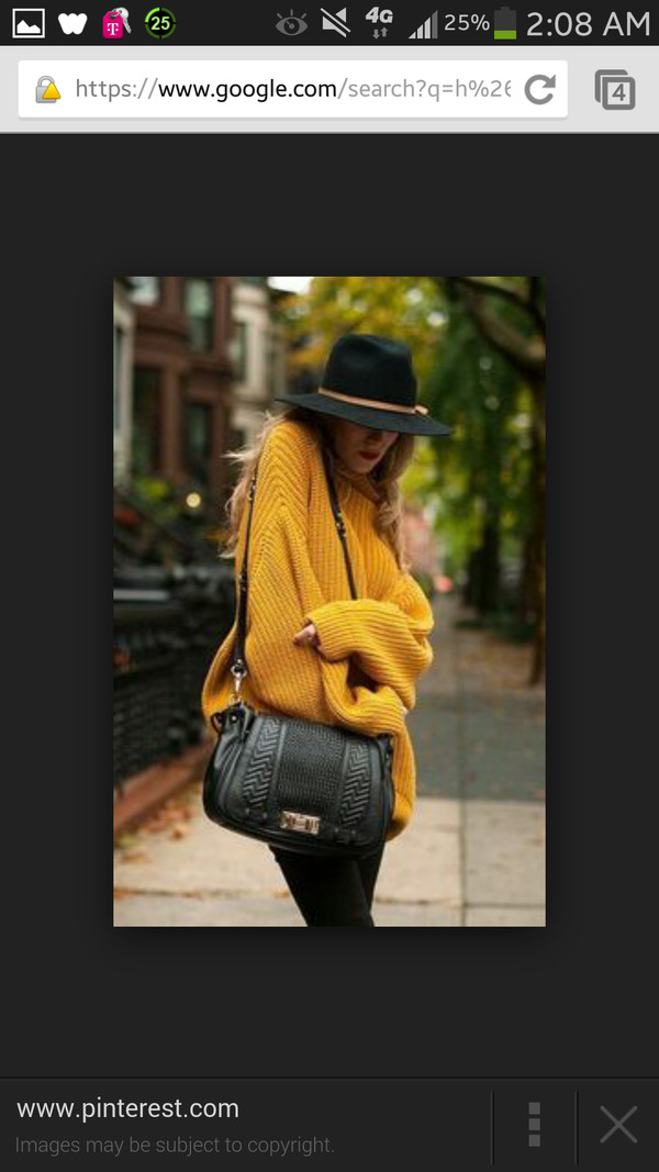 bag sweater hat