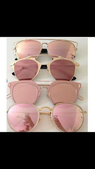 sunglasses round sunglasses pink sunglasses