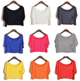 Batwing sleeve t