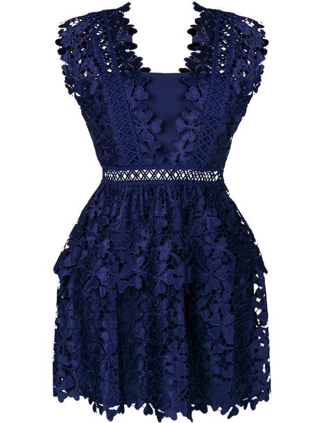 dress mini dress mini embroidered women spandex blue