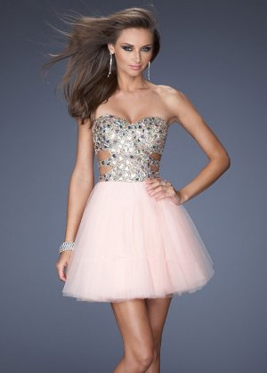 Short Apricot Rhinestones Cutout Prom Dresses 2014 [short stone prom dresses] - $145.00 : Cheap Sequin Prom Dresses2014,Online Tailored Prom Dresses Shop,Homecoming Dresses Cheap