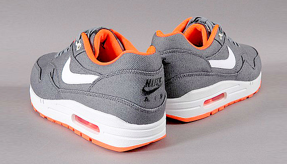 Nike air max 1 prm 'grey denim'