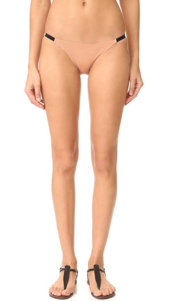 Solid & Striped bikini bikini bottoms nude black swimwear