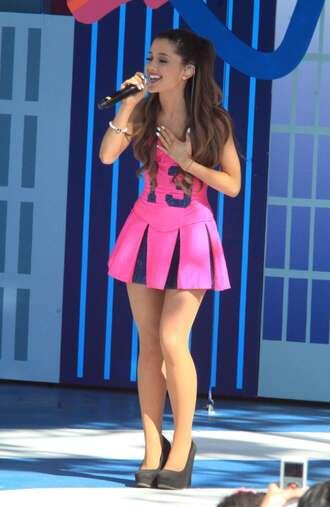 dress ariana grande pink dress 13