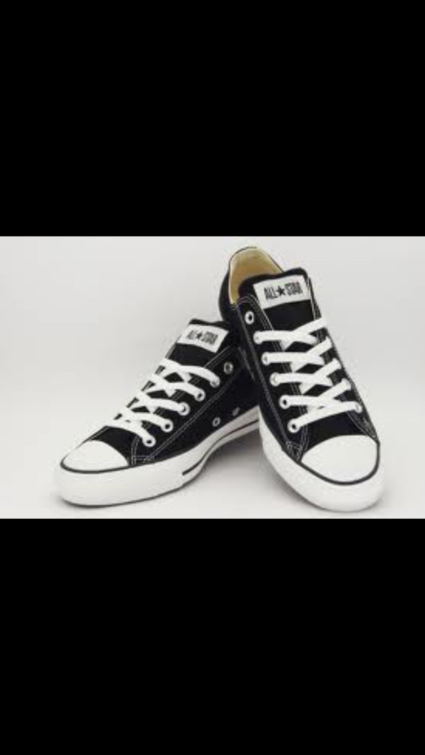 shoes converse black all star converse