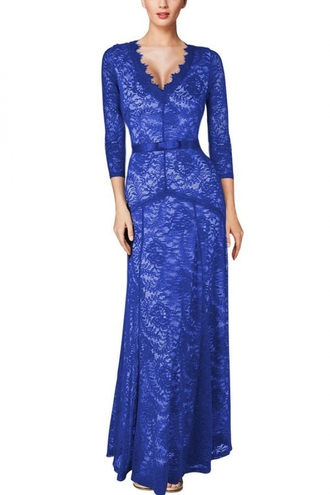 dress blue maxi date dress classy wots-hot-right-now maxi dress long dress plunge v neck sexy dress elegant dress party dress formal dress special occasion dress