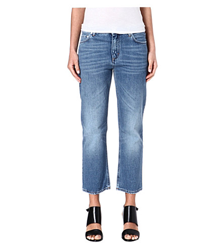 Pop relaxed-fit low-rise jeans