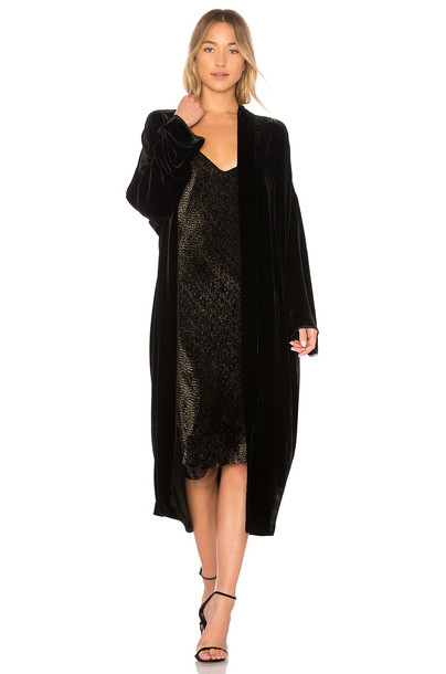Nili Lotan kimono black top