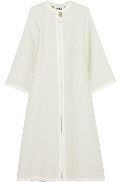 Issa | Joan wool-blend coat | NET-A-PORTER.COM