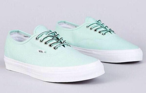 sneakers vans mint mint shoes mint vans girly trainers style