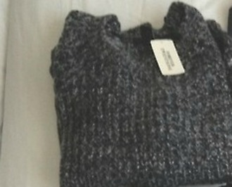 clothes charcoal sweater