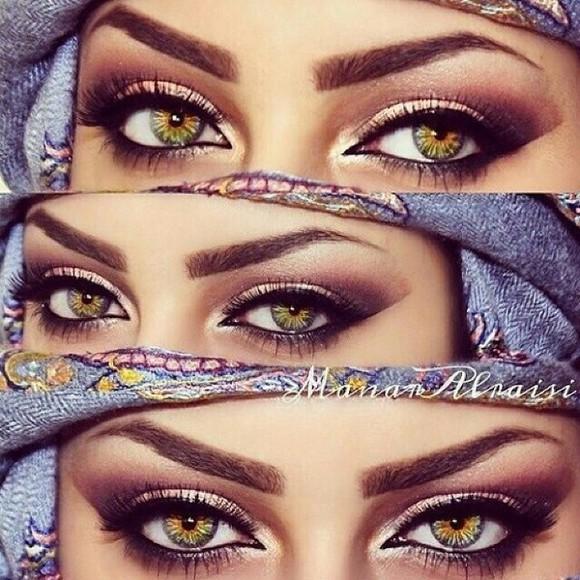 make-up mac eyelashes eyebrows arabic