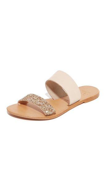 Joie Sable Slides - Nude