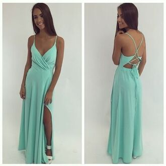 dress mint dress formal dress prom dress cocktail dress peppermayo