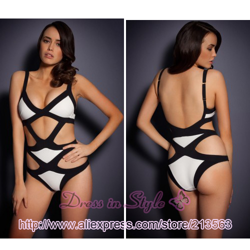 2013 Free Shipping Sexy Neon Mazzy Hot Summer Bandage A G Bikini Monokini Beachwear Swimwear Swimsuit Women Lady BodyCon DS936-in Bikinis Set from Apparel & Accessories on Aliexpress.com