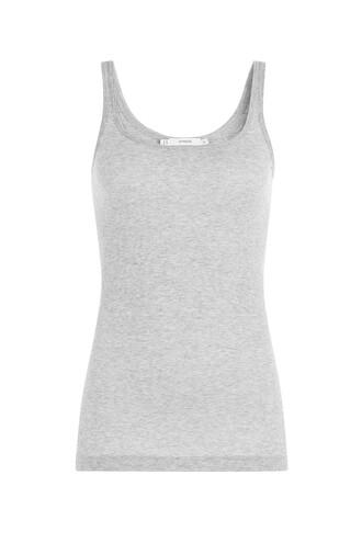 cotton grey top