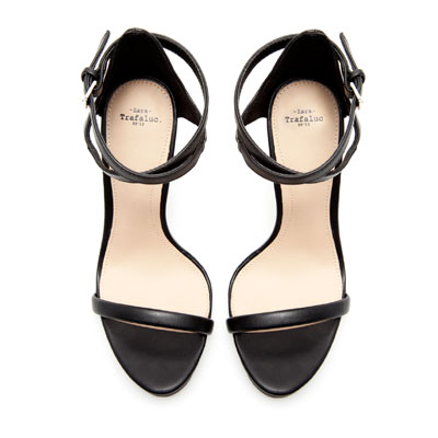 233c8e585dd ANKLE STRAP SANDAL - High-heeled shoes - Shoes - TRF - ZARA ...