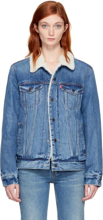 jacket denim jacket denim blue