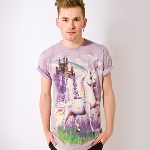 Unicorn Castle T-Shirt - buy at Firebox.com