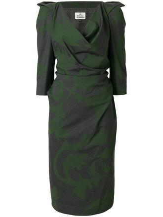 dress women wool grey