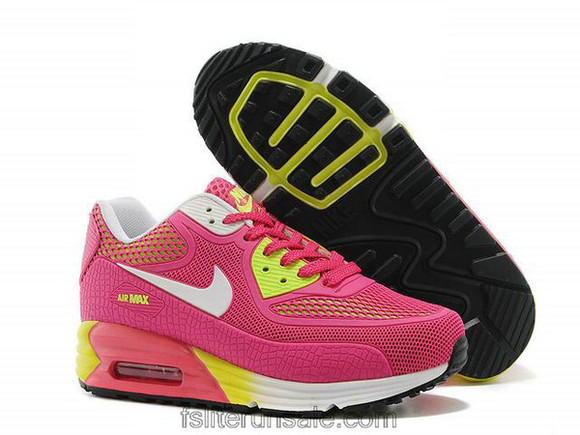 shoes girls nike air max 90 hyp prm 25 anniversary nike air max 90 pink yellow 2014 nike air max 90 hyp prm footwear nike air max 90 hyperfuse, full pink pink pink dress