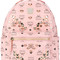 Mcm - mcm start monogram backpack - women - leather/brass - one size, pink/purple, leather/brass