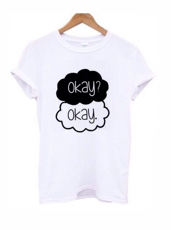 Okay Okay tee – LUCKY FOX APPAREL
