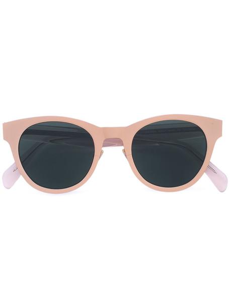 Céline Eyewear women sunglasses grey metallic